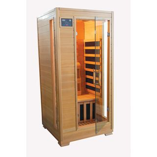 TheraPure 1 person Hemlock Carbon Heater Infrared Sauna