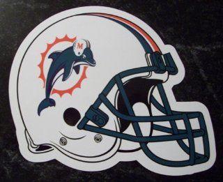 Miami Dolphins Helmet Logo NFL Car Magnet Sports