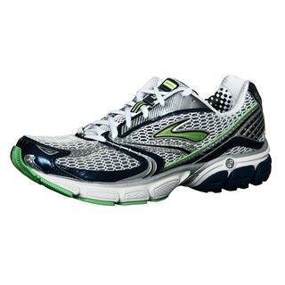 Brooks Mens Ghost 3 Neon Green/ Multi Running Shoes