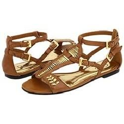 CARLOS by Carlos Santana Gilead Camelot Leather Sandals