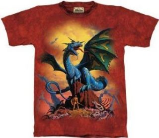 The Mountain Classic Blue Dragon Adult Tee Shirt XL