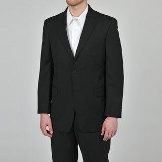 Tommy Hilfiger Mens Trim Fit Black Suit Jacket