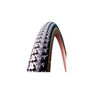 Kenda Cross Knobby Tire, 26 x 1 3/8 Wire Gum Wall Sports