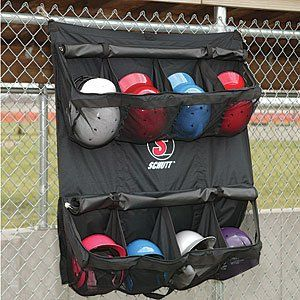 Schutt Hanging Batters Helmet Bag (Black, 55 Lenght x 41