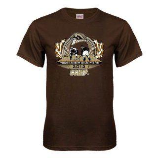 Western Michigan Brown T Shirt, X Large, 2012 CCHA Arena