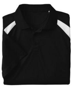Harriton 4 oz. Polytech Colorblock Polo Golf Shirt M318