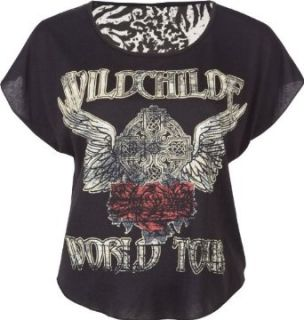 FULL TILT Wild Child Womens Boxy Tee Clothing