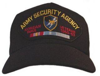 Army Security Agency Korean War Veteran Baseball Cap