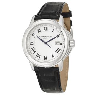 Raymond Weil Mens Stainless Steel Traditional Watch