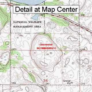 USGS Topographic Quadrangle Map   Glenwood, Minnesota