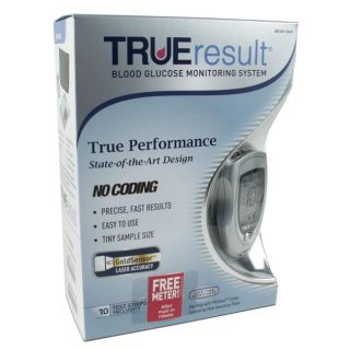 True Result Blood Glucose Monitor Kit