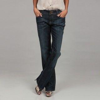 Miss Vigoss Womens Straight Leg Denim Jeans