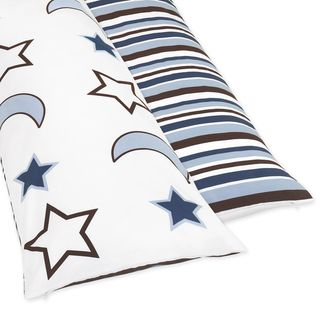 Sweet Jojo Designs Full Length Double Zippered Body Pillow Cover for