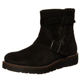 Bronx Mens Reno Suede Buckle Boots