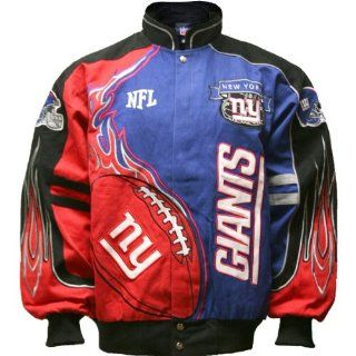 NFL New York Giants Youth (8 20) Red Zone Jacket Small