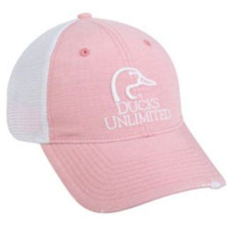 OUTDOOR CAP DU42B LADIES CAP DUCKS UNLIMITED LOGO, PINK