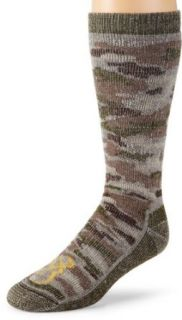 Browning Hosiery Mens Camo Wool Blend Sock, 2 Pair Pack