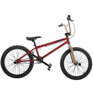 Preco PR4 20 inch Red/ Tan BMX Bike