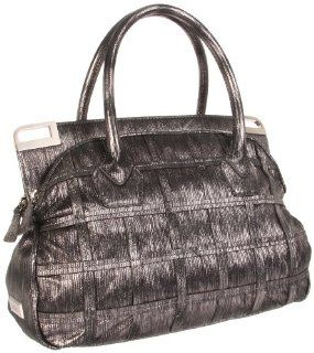 botkier Womens Leela 1113614 H Satchel,Dark Metal,One Size Shoes