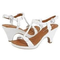 Born Alcala II Bianco Vegtan Leather Sandals