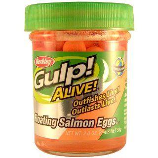Gulp Alive Floating Salmon Eggs Fishing Bait (Fluorescent