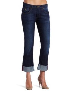 Carhartt Womens Denim Crop Pant, Vintage Night, 12