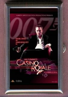 JAMES BOND CASINO ROYALE DANIEL CRAIG COIN OR PILL BOX