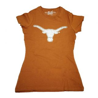 Campus Couture Womens Texas Longhorns Krista T shirt