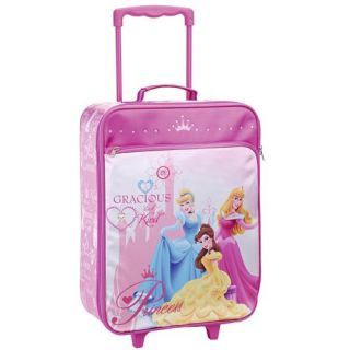 Valise trolley Disney Princesses En toile Dimensions 47 x 34 x 15 cm 2