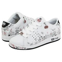 Red by Marc Ecko Phortress White/Red/Black Athletic