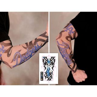 Los Angeles Dodgers Tattoo Sleeves (Pack of 2)