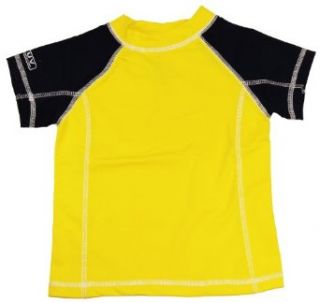 Nautica Infant/Toddler Boys Rash Guard Yellow Swim Top/T