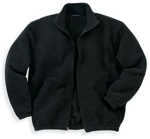 NEW Port Authority   R Tek Fleece Full Zip Jacket Black