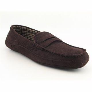 Izod Sam Mens Brown Slippers Shoes