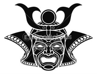 Fearsome samurai mask  Vector Stock © Christos Georghiou #6579461