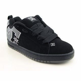 DC Shoe Co USA Youth Boys Court Graffik Se Black/Plaid Skate Shoes