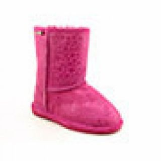 Bearpaw Youth Kids Girlss Cimi Youth Pink Boots (Size 3)