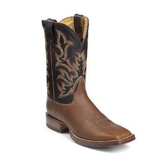 Justin Mens 13 AQHA Remuda Series Western Boots Size 10D Shoes