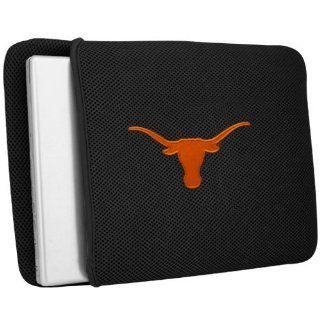 Texas Longhorns Black Mesh Laptop Case