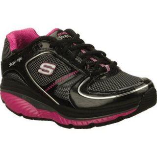 Womens Skechers Shape Ups S2 Lite Black/Hot Pink