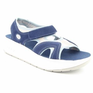 Easy Spirit Womens Fabulous Womens Blue Sport Open Toe Sandal Shoes