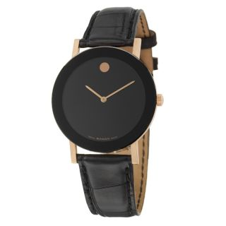 Movado Mens 18k Rose gold Limited Edition Watch