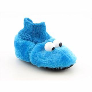 Sesame Street Infant Boys Cookie Monster Slippers