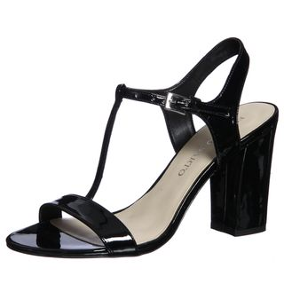 Franco Sarto Womens Jaunt T strap Sandals