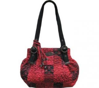 Donna Sharp Cindy Bag, Crimson (Crimson) Clothing