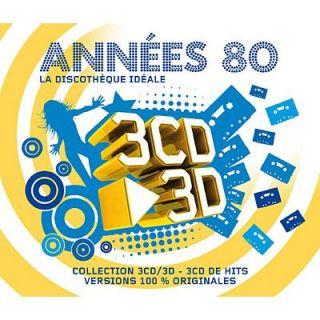 LA DISCOTHEQUE IDEALE DES ANNEES 80 (3 CD)   Achat CD COMPILATION pas