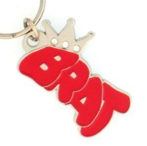 Graffiti Expressions Key Ring   Brat   Graffiti