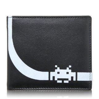 Space Invader Mens Leather Mustard Wallet Shoes