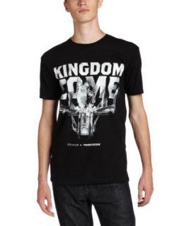 Rocawear Mens Short Sleeve Kingdom Come T Shirt, Black