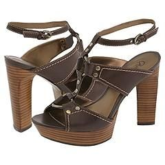 CARLOS by Carlos Santana Lola Chestnut Brown Sandals